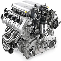 Re-manufactured Audi Engine